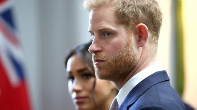 Le prince Harry et Meghan en mars 2019.