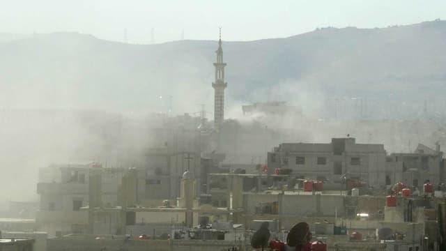 Selon la France et les Etats-Unis, la Syrie dispose de plus de mille tonnes d'agents chimiques de guerre.