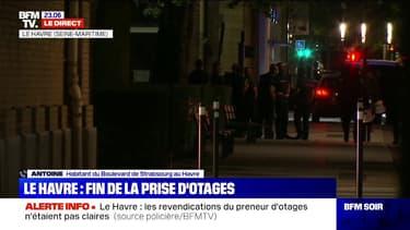Le Havre: ce témoin a assisté à l'interpellation du preneur d'otages, il raconte