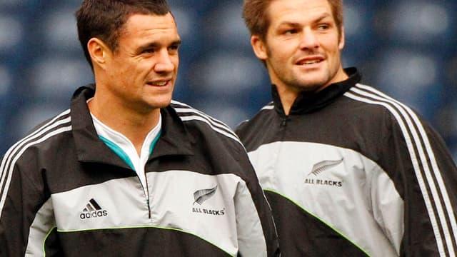 Dan Carter Richie MacCaw, la Nouvelle-Zélande est la seule équipe déjà qualifiée en quarts