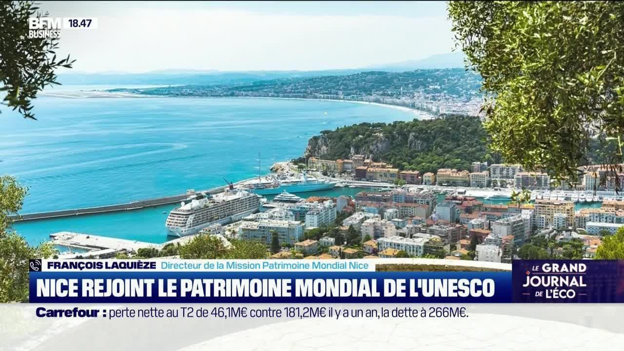 François Laquièze (Mission Patrimoine Mondial Nice) : Nice rejoint le patrimoine mondial de l'UNESCO - 28/07