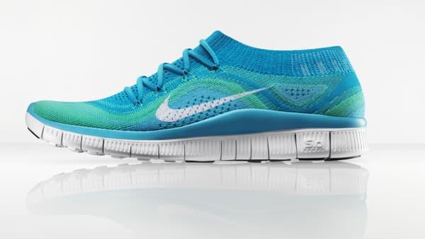 """Les Nike Flyknit avec leur dessus """"tricoté"""""""