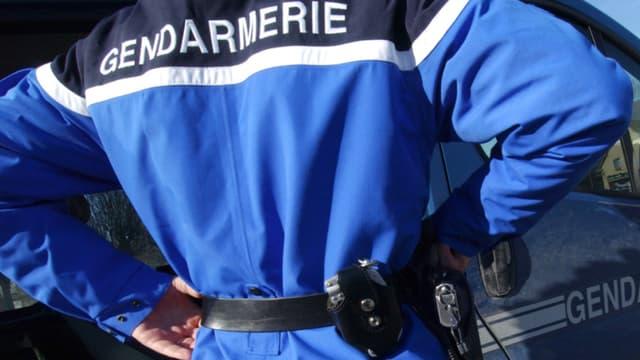 Un officier de gendarmerie - Image d'illustration