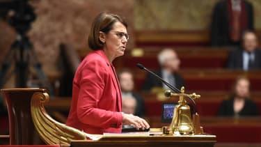 Laurence Dumont a présidé mardi après-midi la séance de questions au gouvernement.