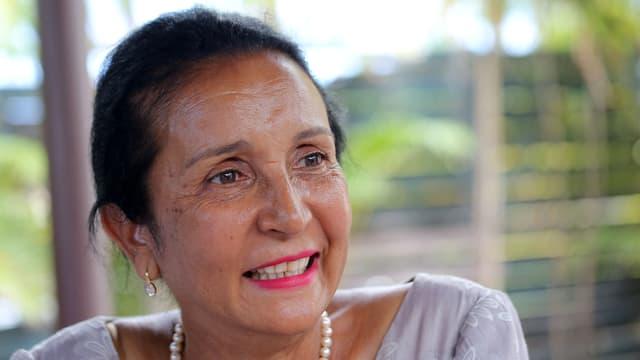 Huguette Bello, le 11 décembre 2015 à Saint-Denis de La Réunion