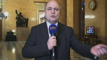 Bruno Le Roux, lundi, sur BFMTV.