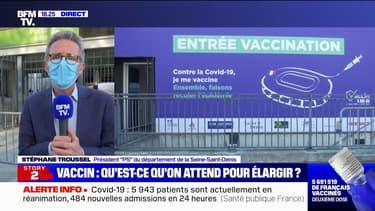 """Seine-Saint-Denis: Stéphane Troussel appelle à """"territorialiser la politique de vaccination"""""""