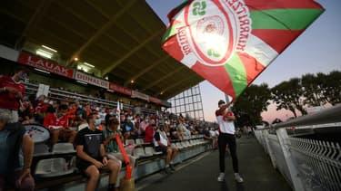 Des supporters du Biarritz Olympique, le 3 septembre 2020