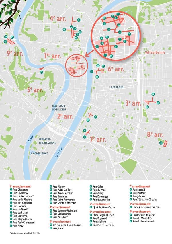 Une nouvelle opération de piétonnisation est menée samedi à Lyon.