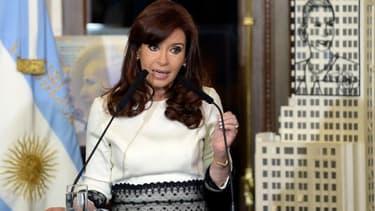 Cristina Kirchner, la présidente argentine, a engagé un bras de fer avec les fonds vautours.