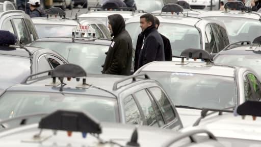 Les taxis vont de nouveau manifester leur colère le 10 février.