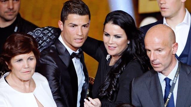 Cristiano Ronaldo et Katia Aveiro