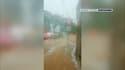 Des inondations à Pignans dans le Var.