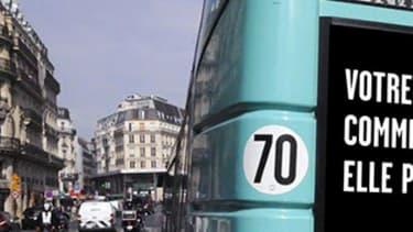 La nouvelle campagne d'affichage de la Sécurité routière à l'arrière de bus dans 40 villes de France