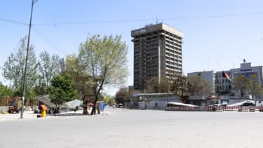 Vue du ministère de la Communication afghan à Kaboul. (Photo d'illustration)