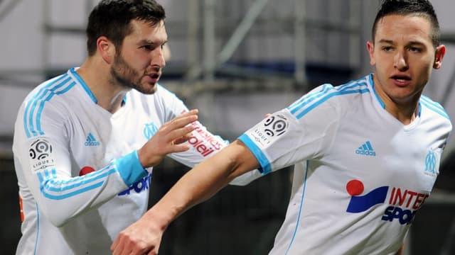 André-Pierre Gignac et Florian Thauvin