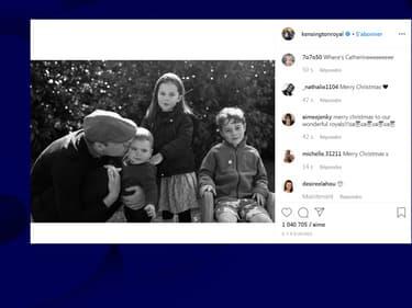 La famille - presque - au complet, avec Kate Middleton à l'objectif