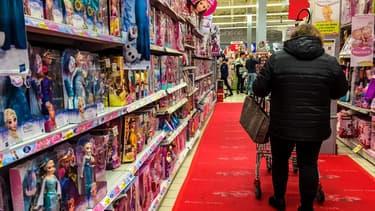 Les rayons des supermarchés n'ont pas changé leurs habitudes