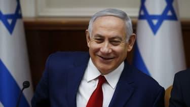 Le Premier ministre israélien, Benyamin Netanyahu.