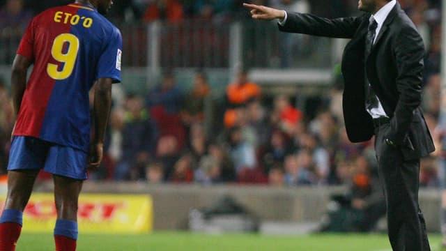 Samuel Eto'o-Pep Guardiola