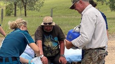 Robert Weber, âgé de 58 ans, a été retrouvé le 24 janvier 2021 après avoir disparu 18 jours dans le bush australien