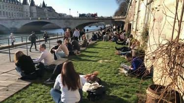 Les températures avoisinent les 20 degrés à Paris.