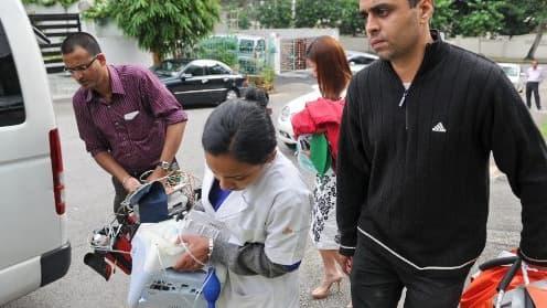 L'adolescente avait été évacuée jeudi vers Singapour pour être soignée.