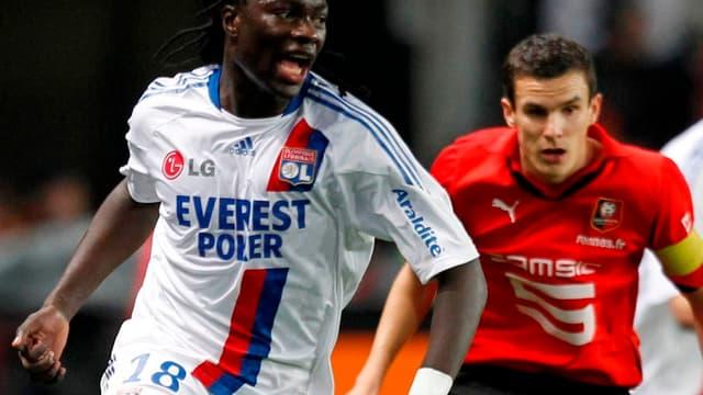 Bafé Gomis et les Lyonnais se sont inclinés face à Rennes