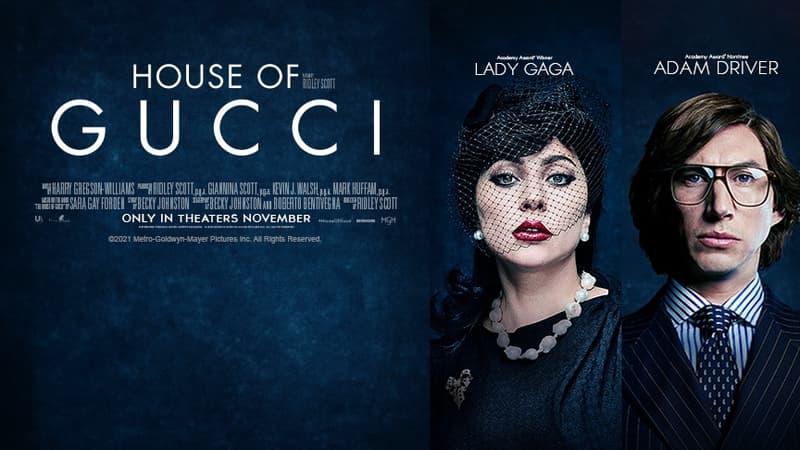 """""""House Of Gucci"""": la première bande-annonce dévoilée, avec Lady Gaga, Adam Driver et Jared Leto"""