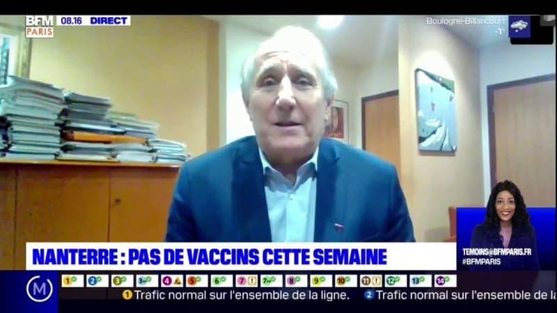 Nanterre: le maire regrette qu'aucune dose de vaccin ne soit livrée cette semaine