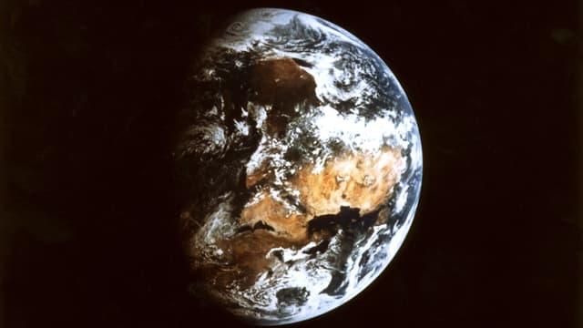 Photo non datée de la terre