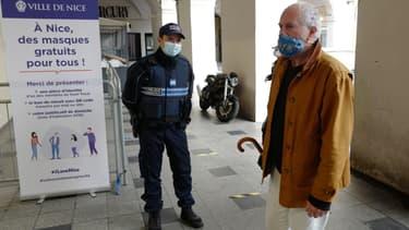 La Ville de Nice souhaite imposer le port du masque partout dès le 11 mai