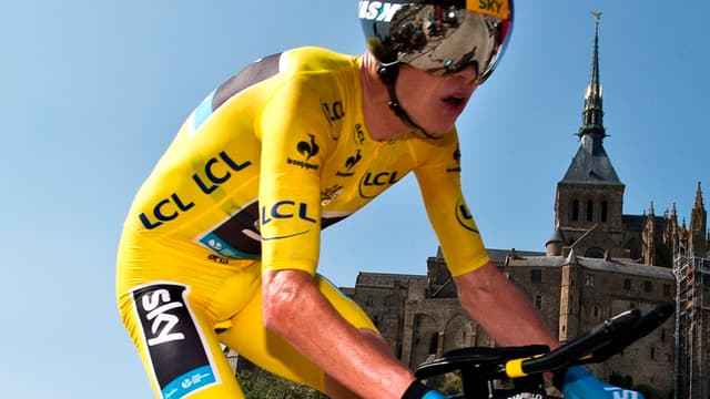 Chris Froome conforte son maillot jaune sur le Tour de France