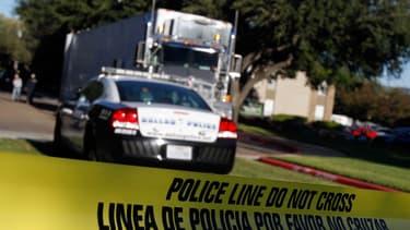 Une voiture de police à Dallas, au Texas, le 26 octobre 2014. (Photo d'illustration)