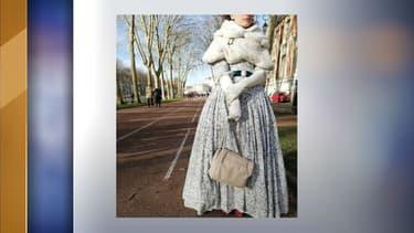 Paloma Bernot s'est vue refuser l'entrée au Château de Versailles, mercredi 26 décembre, en raison de sa robe.