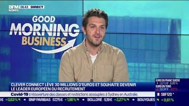 Louis Coulon (CleverConnect) : CleverConnect souhaite devenir le leader européen du recrutement - 18/10
