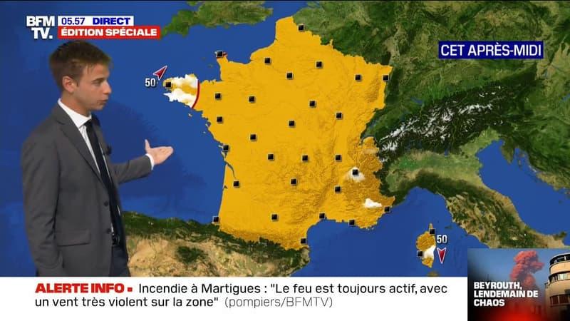 Plein soleil sur (presque) toute la France ce mercredi