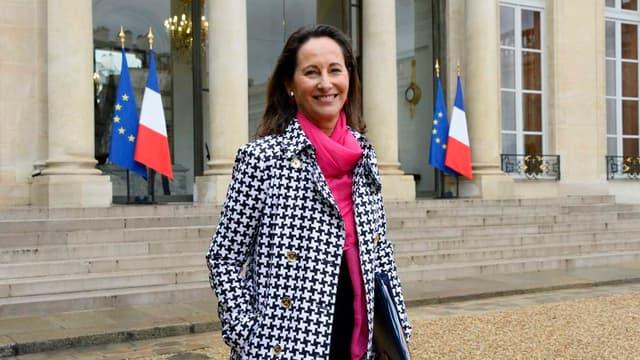 Ségolène Royal a fait des concessions face à la grogne des transporteurs routiers.