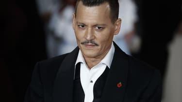 L'acteur Johnny Depp en novembre 2017 à Londres.