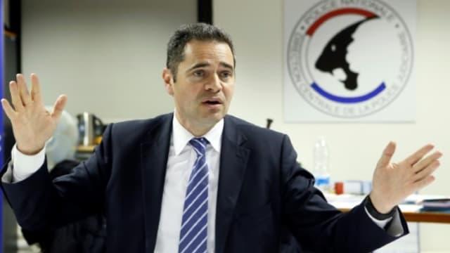 François Thierry lors d'une conférence de presse le 14 décembre 2012 à Nanterre.
