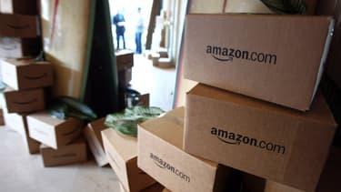 Amazon est l'enseigne préférée des Français.