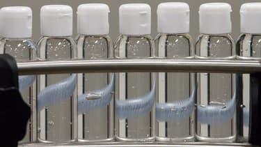 Du gel hydroalcoolique