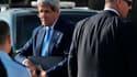 John Kerry à Ramallah, en Cisjordanie. Le secrétaire d'Etat américain a déclaré vendredi soir à Amman en Jordanie être parvenu à un accord qui jette les bases d'une future reprise des négociations israélo-palestiniennes. /Photo prise le 19 juillet 2013/RE