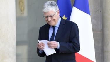 Pierre-René Lemas a annoncé le 10 avril la liste des secrétaires d'Etat, sa dernière action en tant que secrétaire général de l'Elysée.