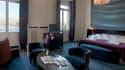 Suite dans un hôtel de Genève, en Suisse, avec vue sur le lac Léman, le 5 avril 2011 (photo d'illustration).