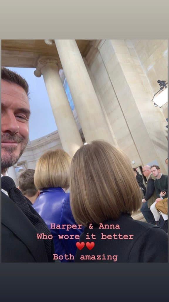 La photo publiée par David Beckham sur Instagram