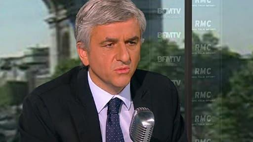 Le président du Nouveau Centre Hervé Morin exclut toute alliance avec le Modem de François Bayrou.