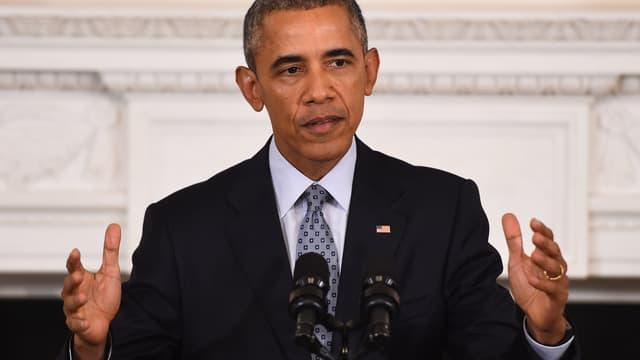 Barack Obama à la Maison Blanche - Washington