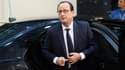 François Hollande à Bruxelles le 18 décembre 2014 à l'occasion du sommet européen.