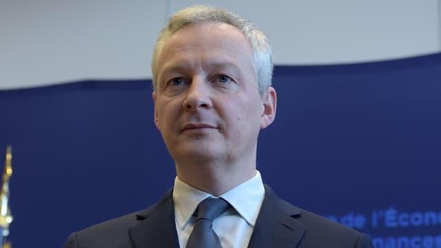 """""""La France regrette la décision qui a été annoncée hier par le président des États-Unis"""", a déclaré le ministre de l'Economie."""